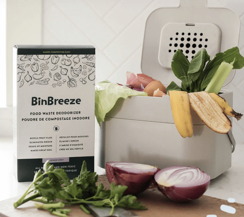 Canadian packaging compliance for BinBreeze compost product