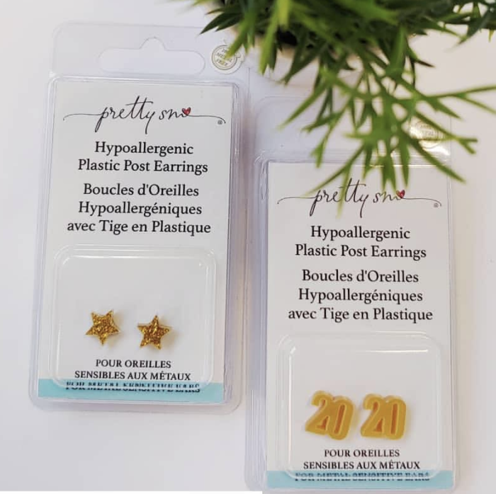 Canadian packaging compliance for Pretty Smart hypoallergenic earrings